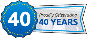 Proudly Celebrating 40 Years